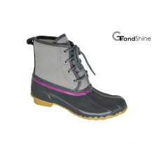 Women′s Lace up Ankle Low Winter Snow Boots