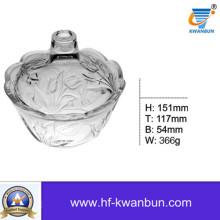 Tazón de cristal de alta calidad de la miel para Daily-Use Kb-Hn0369
