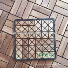 Einfache Installation Verriegelungs-Deck Fliesen 300 * 300 * 19 mm Made in Vietnam
