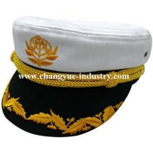Großhandel Baumwolle benutzerdefinierte einheitliche Matrose Kapitän Mütze Hut