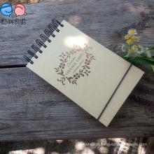 Mini Notebook de papel espiral barato para promoção (42K)