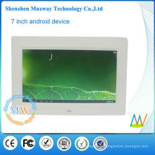 1024 * 600 haute résolution LCD cadre numérique 10.1 avec wifi