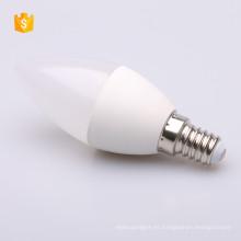 C37 110-240candle led bombilla E14 / E27 base lámpara