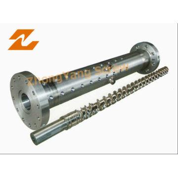 Bimetallic Rubber Screw Barrel
