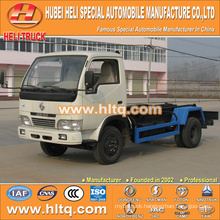 DONGFENG brand 4X2 5 tons hook lift garbage truck 95hp hot sale with high performance in China