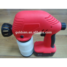 WIreless 18V Ni-Cd Battery Powered Rechargeable Electric Portable Mini Painting Sprayer Cordless Paint Spray Gun