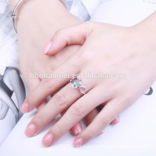 2017 Single Simple Love 2 Gram Gold Ring Jewelry for Women