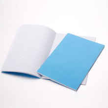 Top end metal spiral notebook