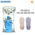 socks manufacturing machine prices to make plain lady and men invisible wool socks