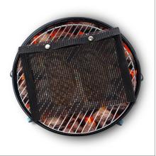 Custom size non-stick fiberglass reusable PTFE BBQ grill ptfe mesh bag