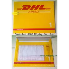 Envelope expresso de papel, sacos de arquivo expresso para a DHL, UPS, FedEx com SGS (B & C-J002)