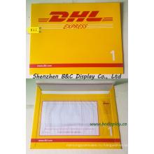 Бумажный конверт Express, Экспресс-файла сумки для DHL, ИБП, FedEx с SGS (B и C-J002)