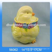 Керамический сосуд для хранения пасхального яйца