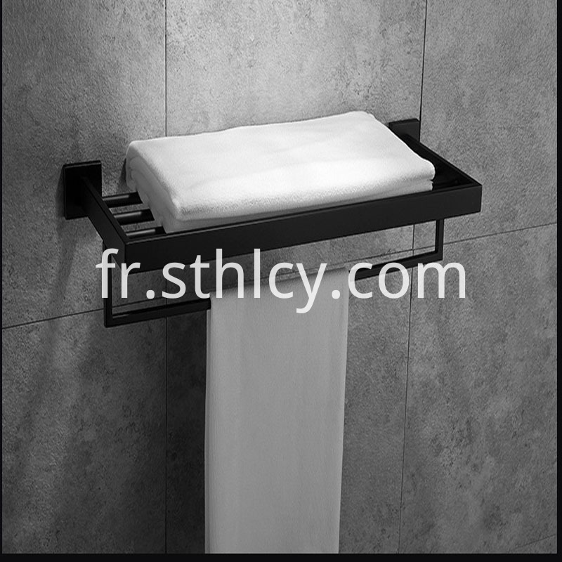 304 Multifunctional Bath Towel Rack