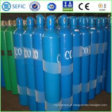 Cilindro de gás de monóxido de carbono de aço sem costura industrial 50L (EN ISO9809)