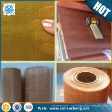 contenido de cobre 99.9% malla de alambre de cobre / red de cobre