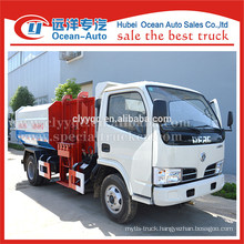 New Condition and Diesel Fuel Type hydraulic garbage truck with bin lifter