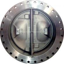 Clapet anti-retour double face en acier duplex