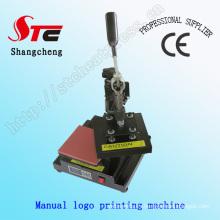 Logotipo de la camiseta Máquina de transferencia de calor Máquina de impresión manual de la máquina de la prensa del calor Stc-Tb01