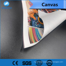 Unique Gloss Coating A4 canvas cotton rolls for Pigment Inks Printing