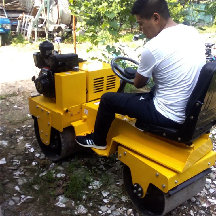 tandem road roller compactor machine