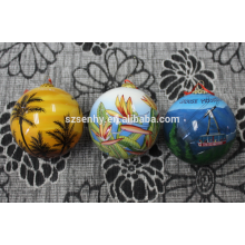 Christmas Ball Hand Painted Glass Ball Christmas Ornaments Ball