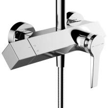 Accessoire de robinet de filtre de cuisine de douche à deux fonctions tenu dans la main pour la santé