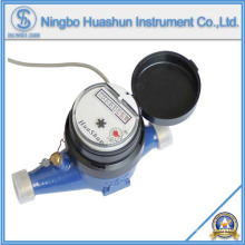 AMR Multi Jet Dry Type Brass Water Meter with Pulse Output Function