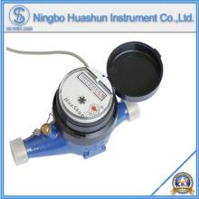 Medidor de água de latão AMR Multi Jet Dry com função de saída de pulso