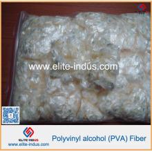Fibra de 6mm PVA para o revestimento do cimento da fibra