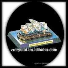 Modelo de construção de cristal maravilhoso H028