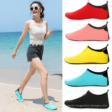Wholesale hot sale Quick-Drying Aqua Yoga Socks Walking Water proof Diving Shoes for Womens and Mens Kids