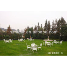 outdoor garden aluminum iron rocking chair furniture