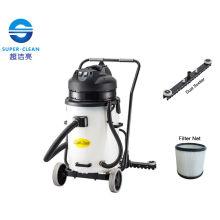 Com Squeegee Plastic Tank 60L Dry Aspirador de Pó