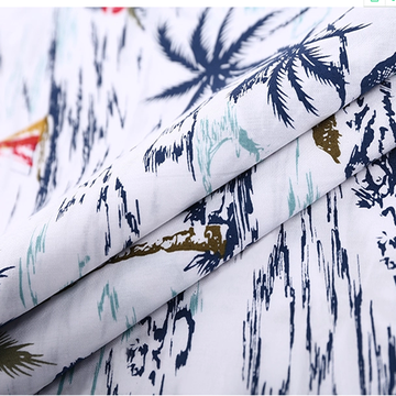 250T CVC Sateen Printed Fabric