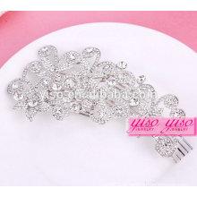 Acessórios de cabelo de moda rainha de diamante coroa de tiara