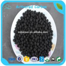 Carbón activado a granel esférico a granel para la purificación del gas de agua