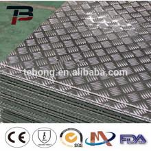 Factory price 3005 embossed aluminum sheet