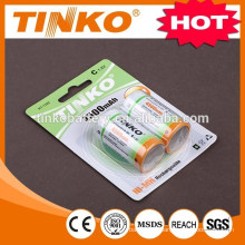 nimh battery ( size C) 4500MAH in blister card