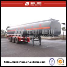 Tanque de GNL Trailer 56000L para o caminhão do líquido do tanque, semi-reboque tanque criogênico de GNL para venda