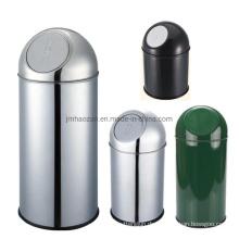 Runder Druckbehälter aus rostfreiem Stahl