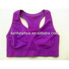 ice silk seamless sexy bra tops,OEM service seamless sports bra
