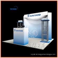 kleiner leichter Bannerständer 10x10 (3x3) Backdrop-Display für Werbemesse