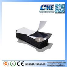 Flexible Gummi-Blatt-Kühlraum-Magnet-Blatt-klebende magnetische Blätter