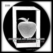 K9 3D subsuperficie láser Apple interior Crystal Rectángulo