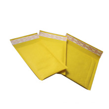 """Emballage expédition de courrier de sécurité sac de 5 """"* 9"""" jaune kraft bulle rembourré expéditeur"""