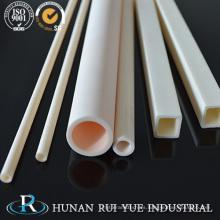 Fabricación de cerámica industrial 95% 99% 99.5% 99.7% Al2O3 Tubo de cerámica de alúmina