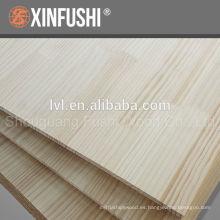 Panel de madera glulam