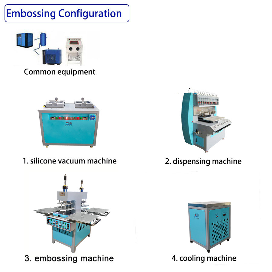 semi-embossingmachine line