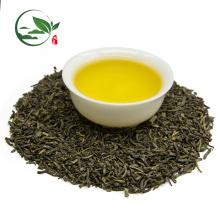 Hojas de té verde suelto, té verde